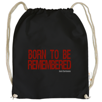 Motiv: Cotton Gymsac - Born to be remembered