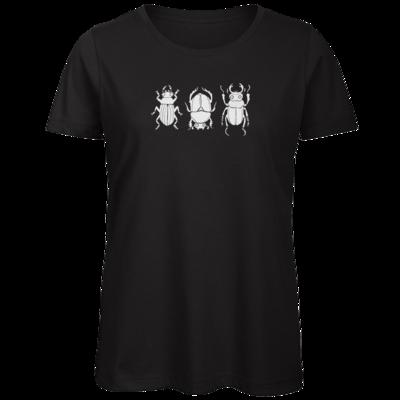 Motiv: Organic Lady T-Shirt - beetle dance