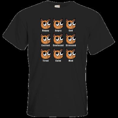 Motiv: T-Shirt Premium FAIR WEAR - E-Meow-tions