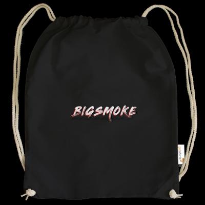 Motiv: Cotton Gymsac - Schriftzug Big Smoke