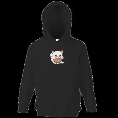 Motiv: Kids Hooded Sweat - Chibipachs watermelon