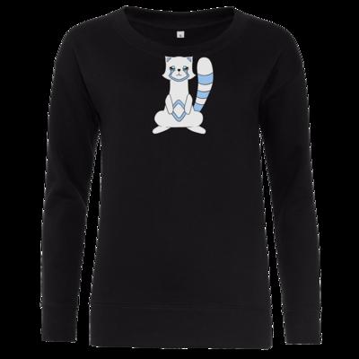 Motiv: Girlie Crew Sweatshirt - Pachs blue