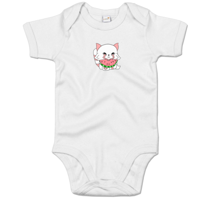 Motiv: Baby Body Organic - Chibipachs watermelon