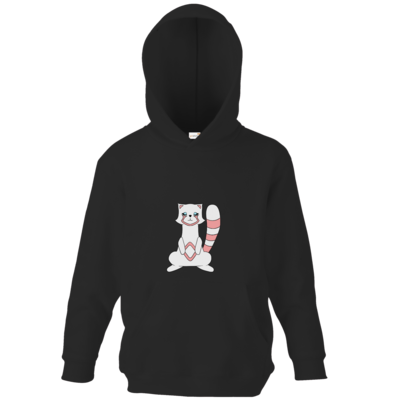 Motiv: Kids Hooded Sweat - Pachs red