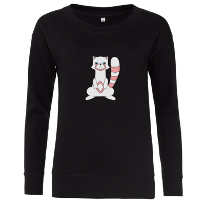 Motiv: Girlie Crew Sweatshirt - Pachs red