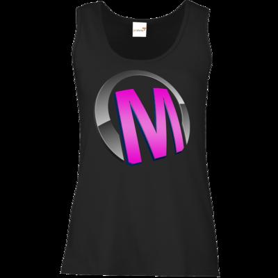 Motiv: Tank Top Damen Classic - Macho - Logo - Rosa