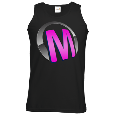 Motiv: Athletic Vest - Macho - Logo - Rosa