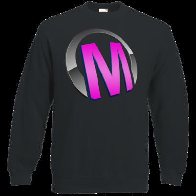 Motiv: Sweatshirt Classic - Macho - Logo - Rosa