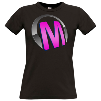 Motiv: T-Shirt Damen Premium FAIR WEAR - Macho - Logo - Rosa