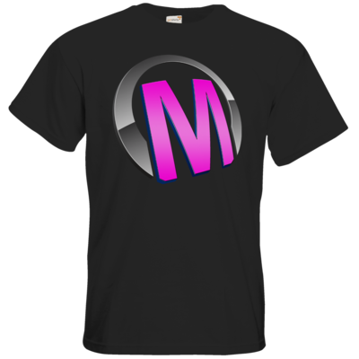 Motiv: T-Shirt Premium FAIR WEAR - Macho - Logo - Rosa