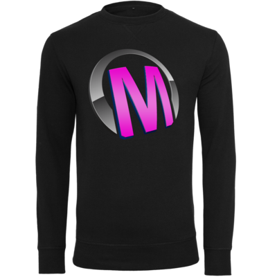 Motiv: Light Crew Sweatshirt - Macho - Logo - Rosa