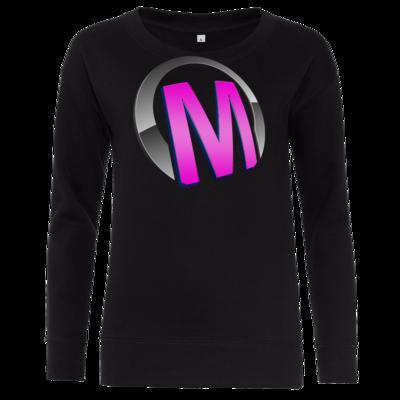 Motiv: Girlie Crew Sweatshirt - Macho - Logo - Rosa
