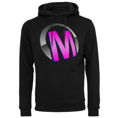 Motiv: Heavy Hoodie - Macho - Logo - Rosa