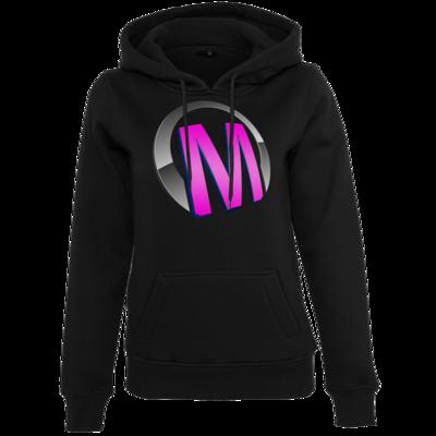 Motiv: Womens Heavy Hoody - Macho - Logo - Rosa