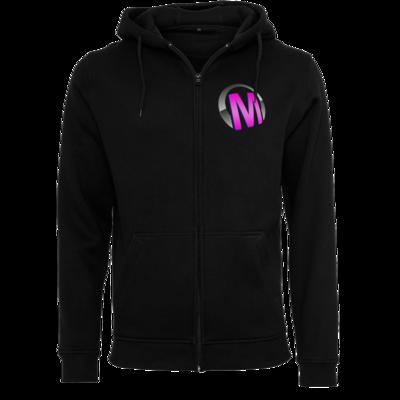 Motiv: Heavy Zip-Hoodie - Macho - Logo - Rosa