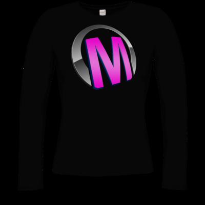Motiv: Longsleeve Damen Organic - Macho - Logo - Rosa