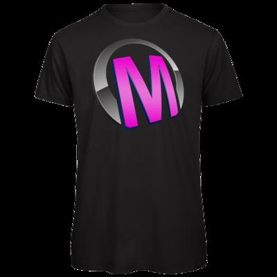 Motiv: Organic T-Shirt - Macho - Logo - Rosa