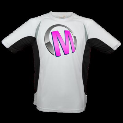 Motiv: Laufshirt Running T - Macho - Logo - Rosa