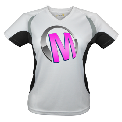 Motiv: Laufshirt Lady Running T - Macho - Logo - Rosa