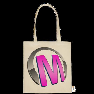 Motiv: Baumwolltasche - Macho - Logo - Rosa