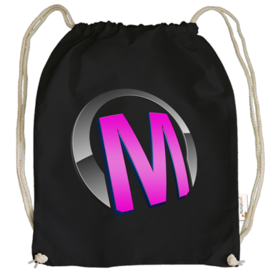 Motiv: Cotton Gymsac - Macho - Logo - Rosa