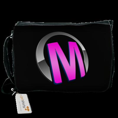 Motiv: Schultertasche - Macho - Logo - Rosa