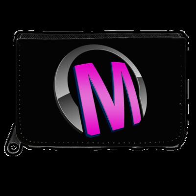 Motiv: Geldboerse - Macho - Logo - Rosa