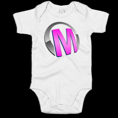 Motiv: Baby Body Organic - Macho - Logo - Rosa