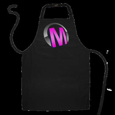 Motiv: Schürze - Macho - Logo - Rosa