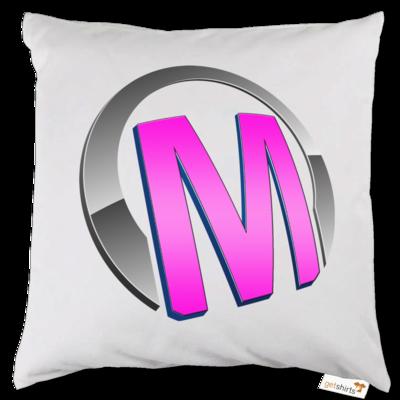 Motiv: Kissen - Macho - Logo - Rosa