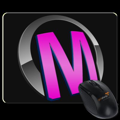 Motiv: Mousepad Textil - Macho - Logo - Rosa