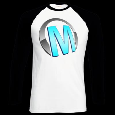 Motiv: Longsleeve Baseball T - Macho - Logo - Türkis