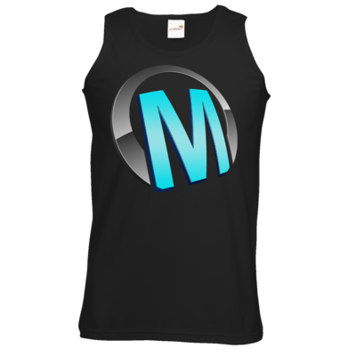 Motiv: Athletic Vest - Macho - Logo - Türkis