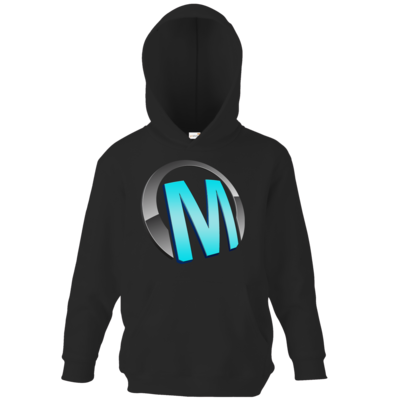 Motiv: Kids Hooded Sweat - Macho - Logo - Türkis