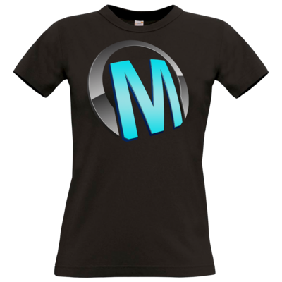 Motiv: T-Shirt Damen Premium FAIR WEAR - Macho - Logo - Türkis