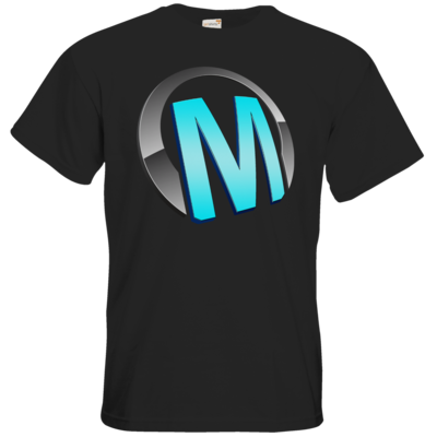 Motiv: T-Shirt Premium FAIR WEAR - Macho - Logo - Türkis