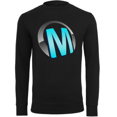 Motiv: Light Crew Sweatshirt - Macho - Logo - Türkis