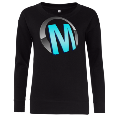 Motiv: Girlie Crew Sweatshirt - Macho - Logo - Türkis