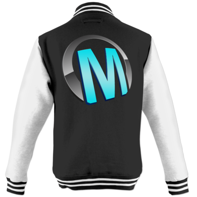 Motiv: College Jacke - Macho - Logo - Türkis