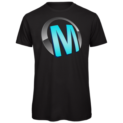 Motiv: Organic T-Shirt - Macho - Logo - Türkis