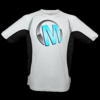 Motiv: Laufshirt Running T - Macho - Logo - Türkis