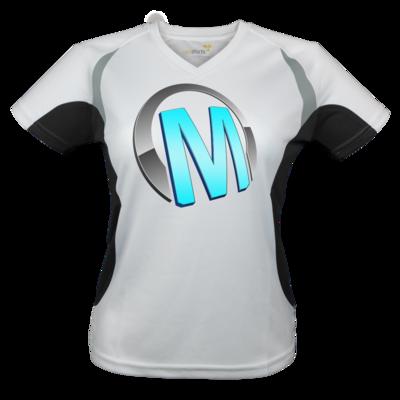 Motiv: Laufshirt Lady Running T - Macho - Logo - Türkis