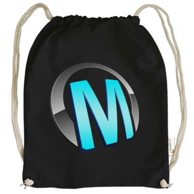 Motiv: Cotton Gymsac - Macho - Logo - Türkis