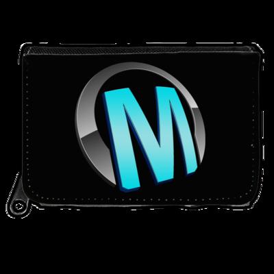 Motiv: Geldboerse - Macho - Logo - Türkis