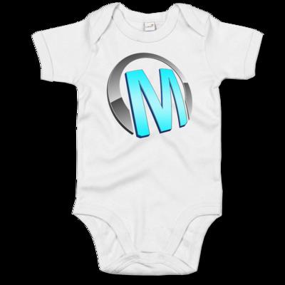 Motiv: Baby Body Organic - Macho - Logo - Türkis