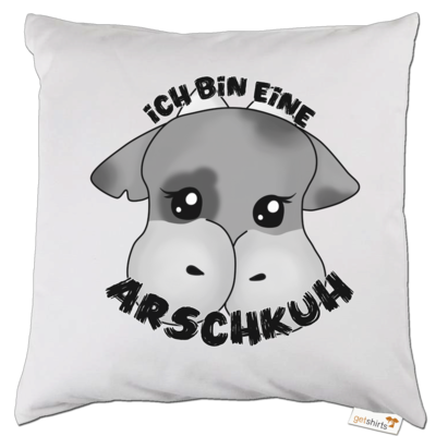 Motiv: Kissen - Arschkuh