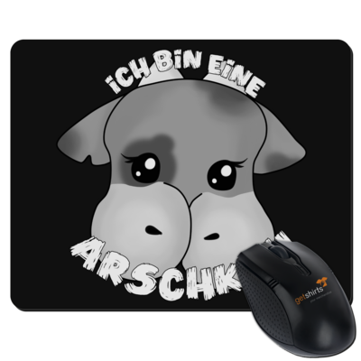 Motiv: Mousepad Textil - Arschkuh