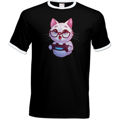Motiv: T-Shirt Ringer - Nashi - Logo