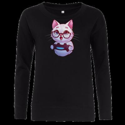 Motiv: Girlie Crew Sweatshirt - Nashi - Logo