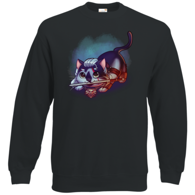 Motiv: Sweatshirt Classic - Pan Tau - Geralt (witcher)